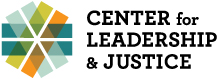 The Center for Leadership and Justice Logo
